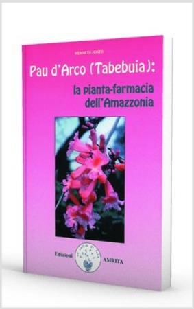 copertina del libro Pau d'Arco (Tabebuia) di Kenneth Jones