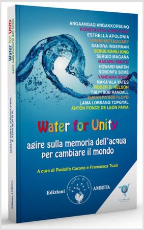 copertina del libro Water for Unity di Masaru Emoto